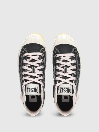 Diesel - S-YUK MC W, Black/Yellow - Sneakers - Image 5