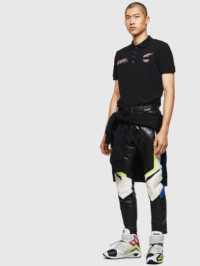 Diesel - ASTARS-T-NIGHT-NEW, Black - T-Shirts - Image 6