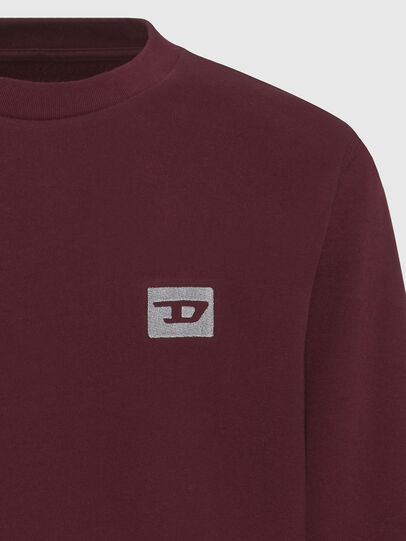 Diesel - UMLT-WILLY, Bordeaux - Pull Cotton - Image 3