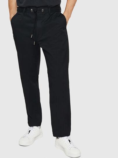 Diesel - P-MORGY, Noir - Pantalons - Image 1