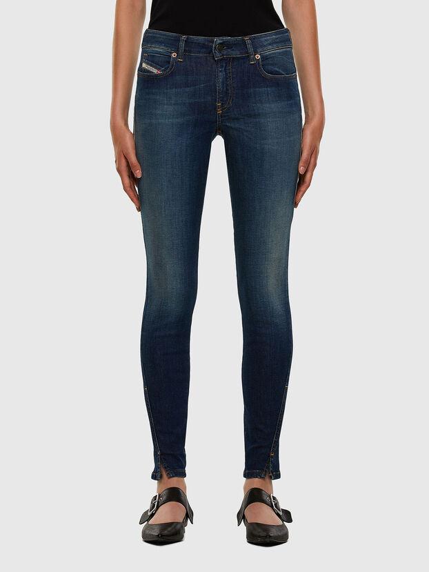 D-Jevel 009HL, Bleu Foncé - Jeans