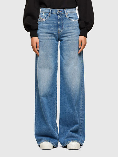 Diesel - D-Akemi 009EU, Bleu Clair - Jeans - Image 1