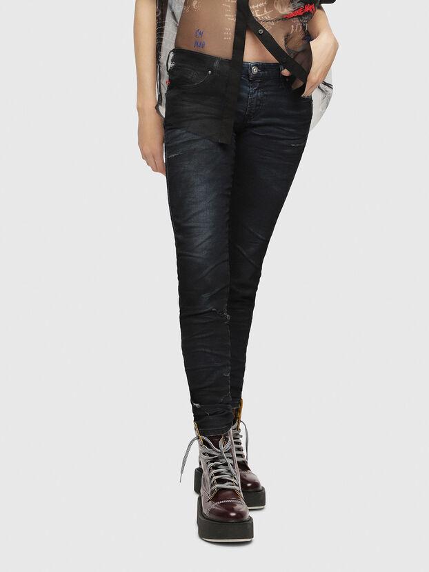 Gracey JoggJeans 069CG, Dark Blue - Jeans