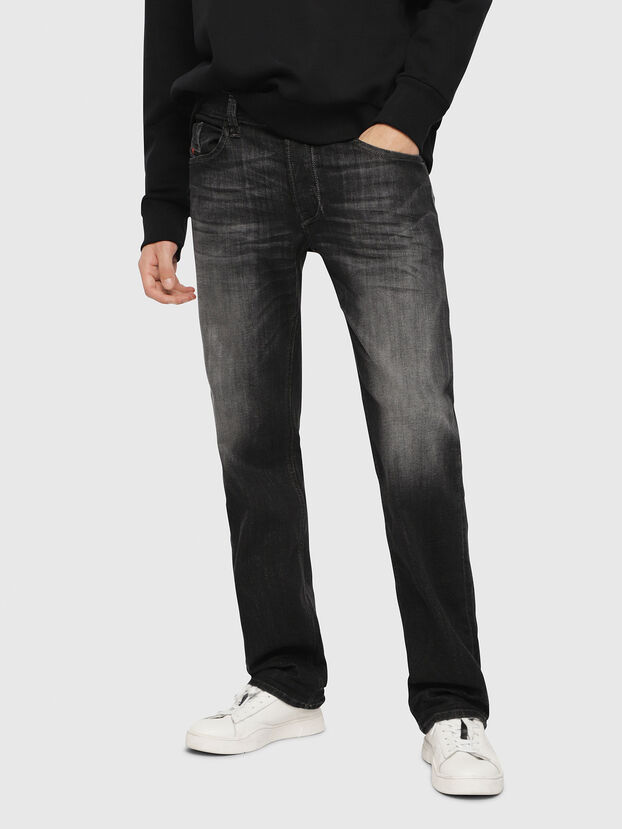 Larkee 087AM, Black/Dark Grey - Jeans