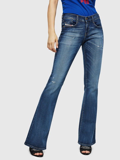 Diesel - D-Ebbey 069FY, Medium Blue - Jeans - Image 1