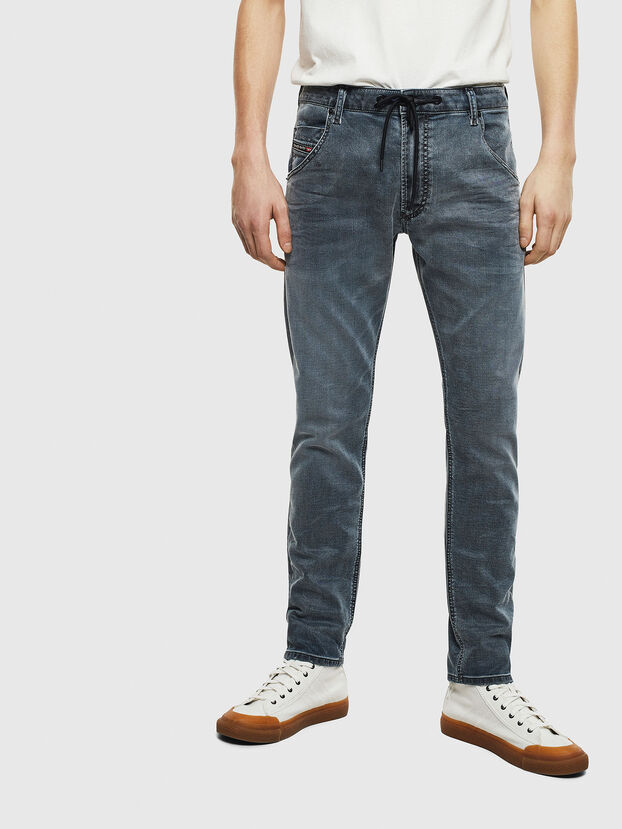 Krooley JoggJeans 069LT, Bleu Foncé - Jeans
