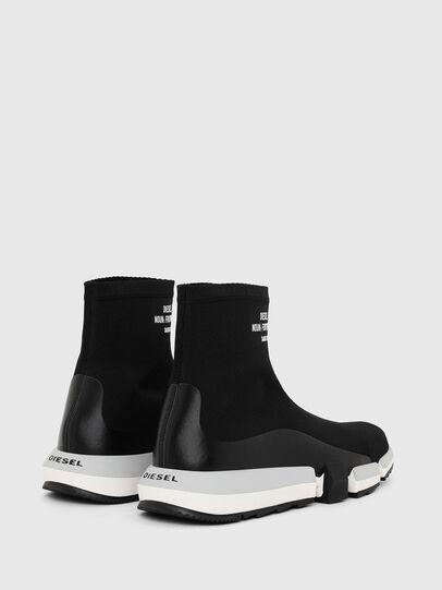Diesel - H-PADOLA HIGH SOCK, Noir - Sneaker - Image 3