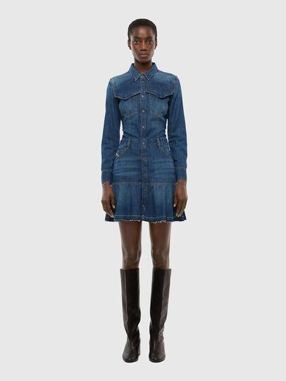 Diesel - DE-JOANA, Bleu moyen - Robes - Image 1