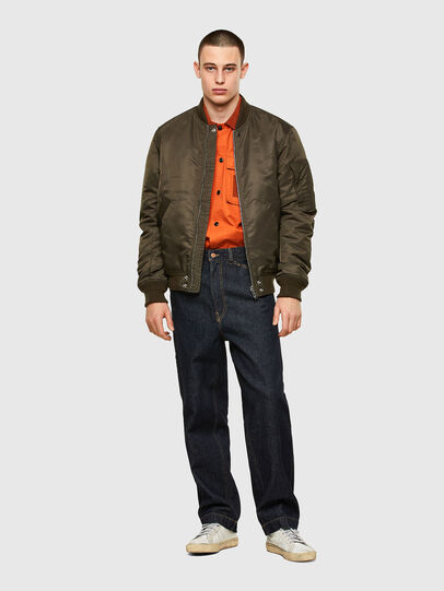 Diesel - S-GUNN, Orange - Shirts - Image 4
