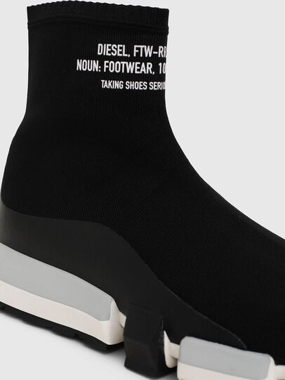 Diesel - H-PADOLA HIGH SOCK, Noir - Sneaker - Image 5