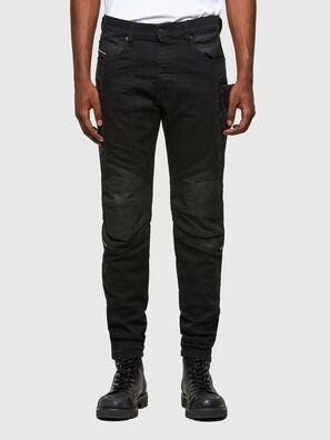 D-Strukt 069TH, Noir/Gris foncé - Jeans