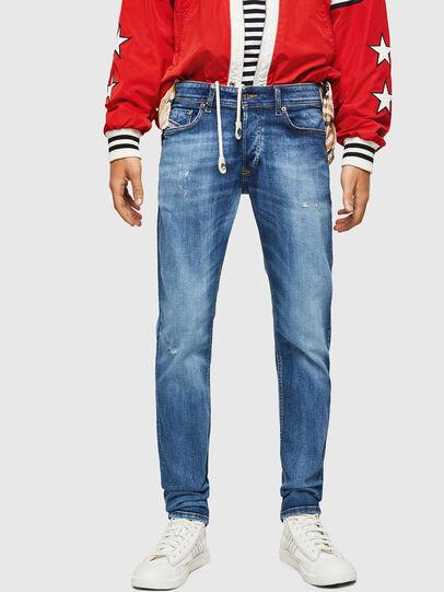 Diesel - Sleenker 069FY, Bleu moyen - Jeans - Image 1