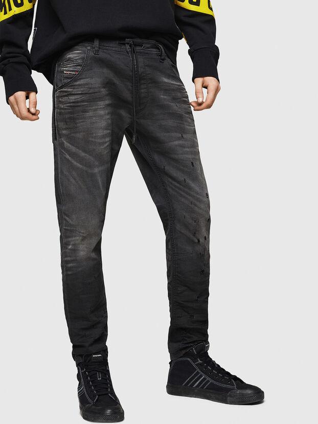 Krooley JoggJeans 069GN, Black/Dark Grey - Jeans
