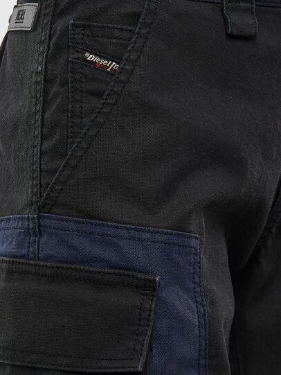 Diesel - D-Kiki JoggJeans® 009KM, Noir/Gris foncé - Jeans - Image 5