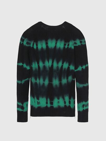 Diesel - K-TONI, Black/Green - Sweaters - Image 2