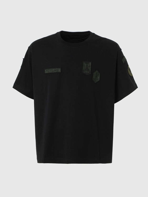 T-CROLF, Noir - T-Shirts
