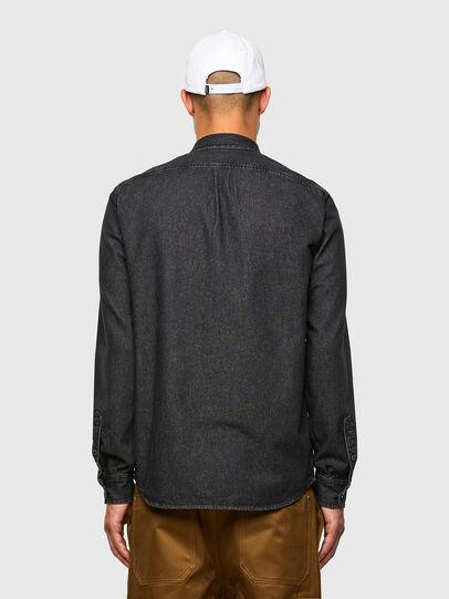 Diesel - D-BILLY, Noir - Chemises en Denim - Image 2