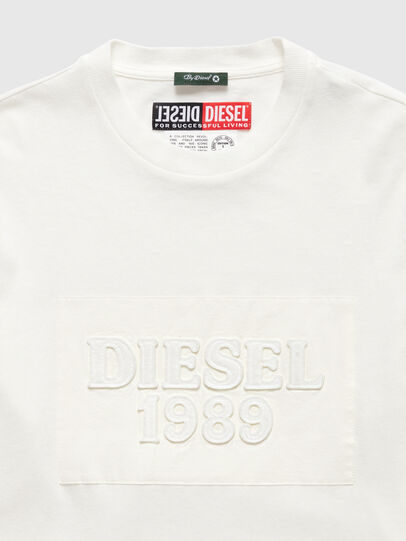 Diesel - DxD-20, White - T-Shirts - Image 3