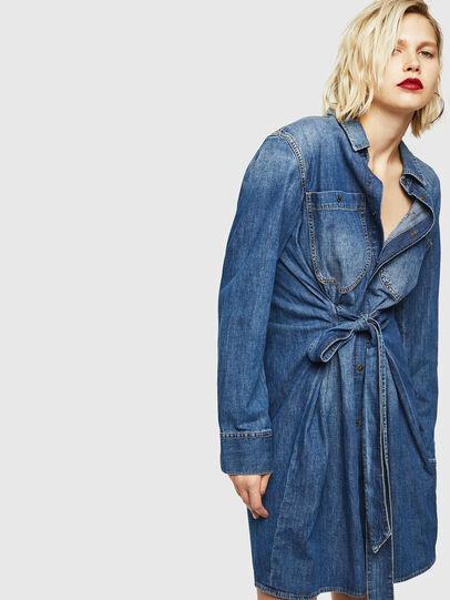 Diesel - DE-BLEU, Bleu moyen - Robes - Image 1