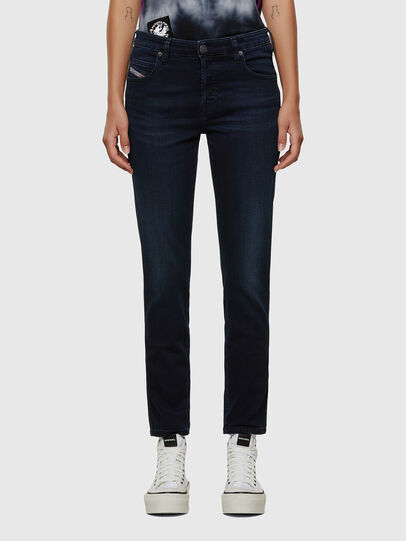 Diesel - Babhila 009CS, Bleu Foncé - Jeans - Image 1