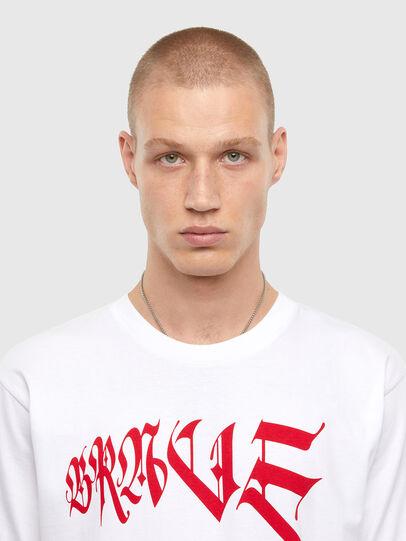 Diesel - T-TUBOLAR-N4, Blanc - T-Shirts - Image 3