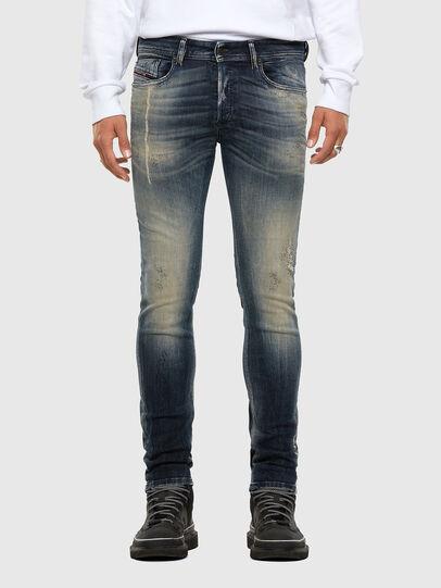 Diesel - Sleenker 069NI, Bleu Foncé - Jeans - Image 1