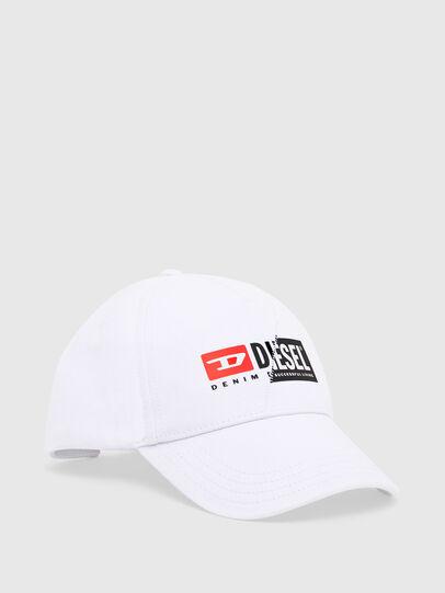 Diesel - CAP-CUTY, Blanc - Chapeaux - Image 1