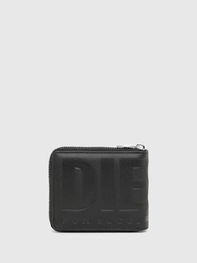 Diesel - HIRESH XS ZIPPI, Black - Zip-Round Wallets - Image 2
