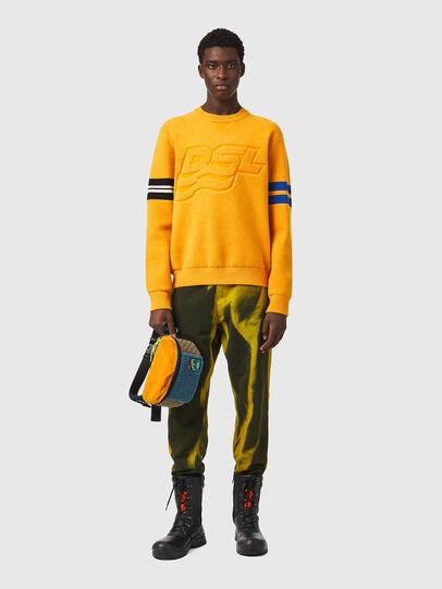 Diesel - K-HOUSTON, Orange - Sweaters - Image 4