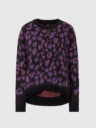 M-RHONDA, Violet/Black - Sweaters