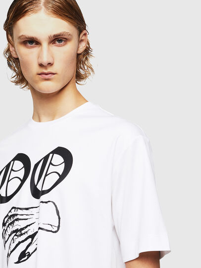 Diesel - TEORIALE-X2, Blanc - T-Shirts - Image 4