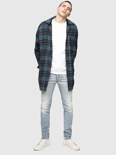 Diesel - Sleenker 081AJ, Bleu Clair - Jeans - Image 5