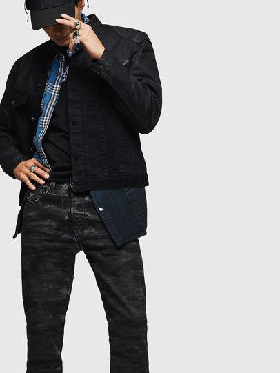 Diesel - Mharky 083AH, Black/Dark Grey - Jeans - Image 4