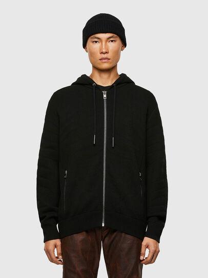 Diesel - K-ALAMAN, Black - Sweaters - Image 1