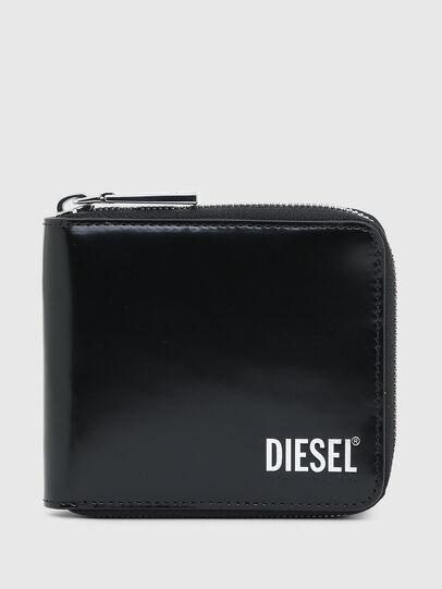 Diesel - HIRESH XS ZIPPI, Noir - Portefeuilles Zippés - Image 1