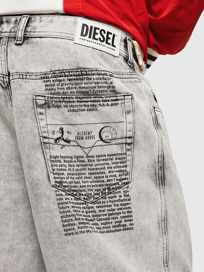 Diesel - D-WILLOH, Gris Clair - Shorts - Image 3