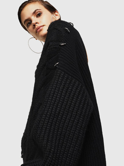 Diesel - MEBLY, Noir - Pull Maille - Image 5