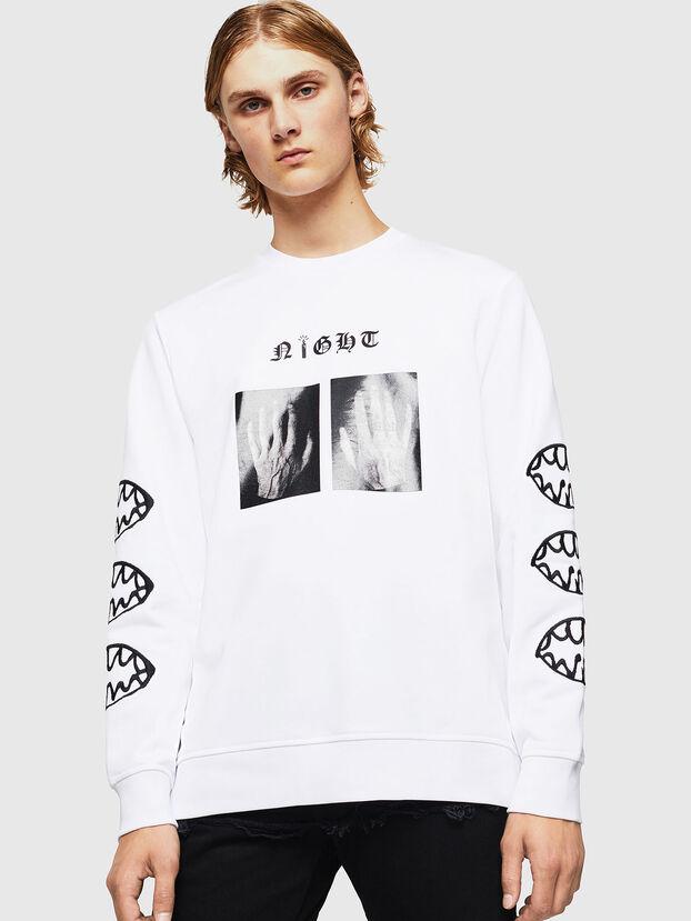SNEILB-X1, Blanc - Pull Cotton