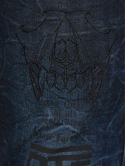 Diesel - D-REEFT JoggJeans® 069RB, Bleu Foncé - Jeans - Image 4