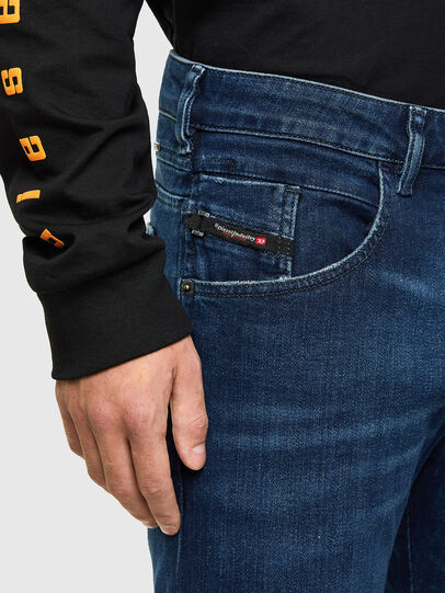 Diesel - D-Bazer 009JE, Bleu Foncé - Jeans - Image 3
