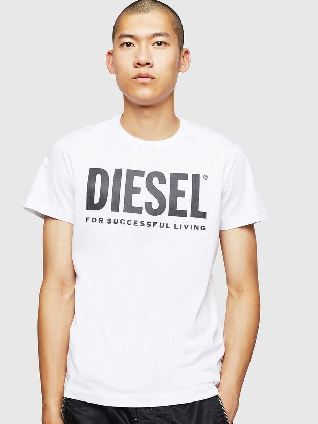 T-DIEGO-LOGO, Blanc - T-Shirts