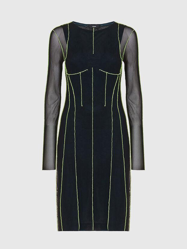 D-VINA, Noir/Vert - Robes