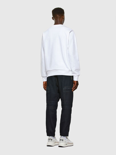 Diesel - S-GIRK-CUTY, Blanc - Pull Cotton - Image 5