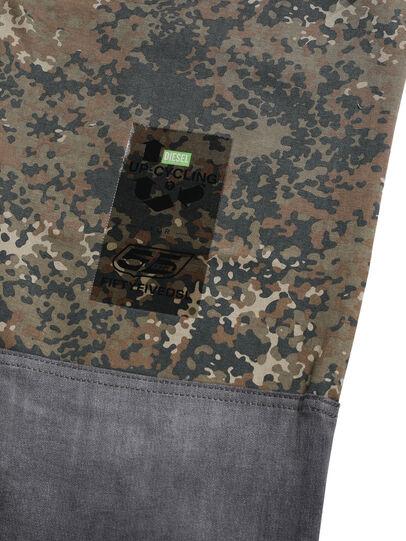 Diesel - D-ONT-HURT-ME, Green Camouflage - Pants - Image 7