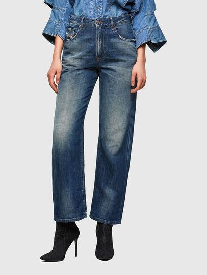 Diesel - D-Reggy 009UD, Bleu Foncé - Jeans - Image 1