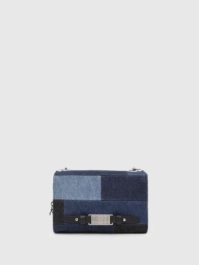Diesel - CROSSAGE, Blue - Crossbody Bags - Image 1
