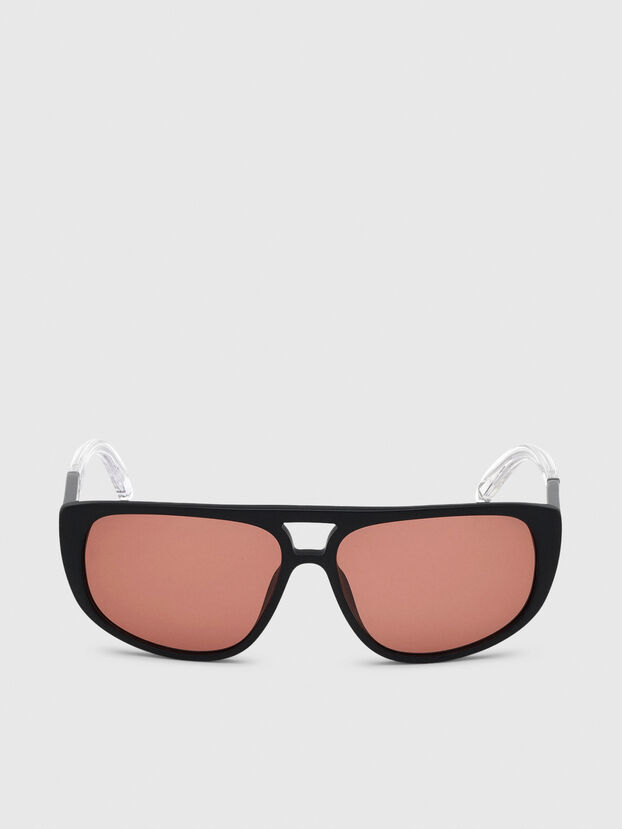 DL0300, Black/White - Sunglasses