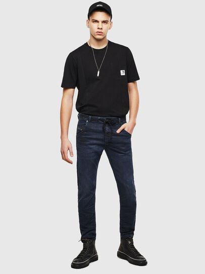 Diesel - Krooley JoggJeans 069MG, Bleu Foncé - Jeans - Image 6