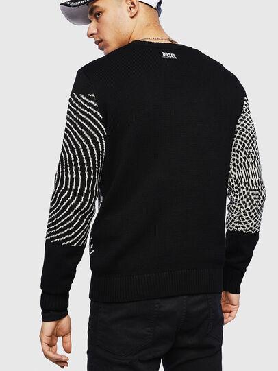 Diesel - K-OCCHY, Black - Sweaters - Image 2