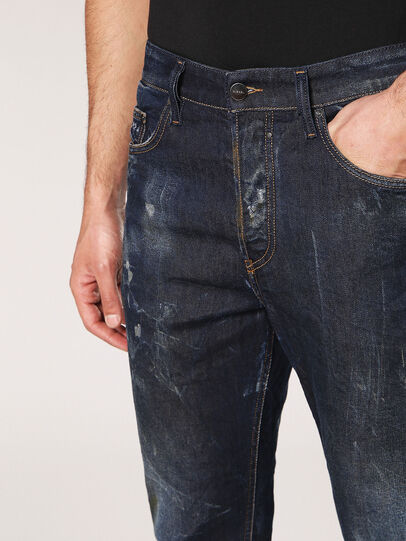Diesel - Jifer 084SW, Bleu Foncé - Jeans - Image 6